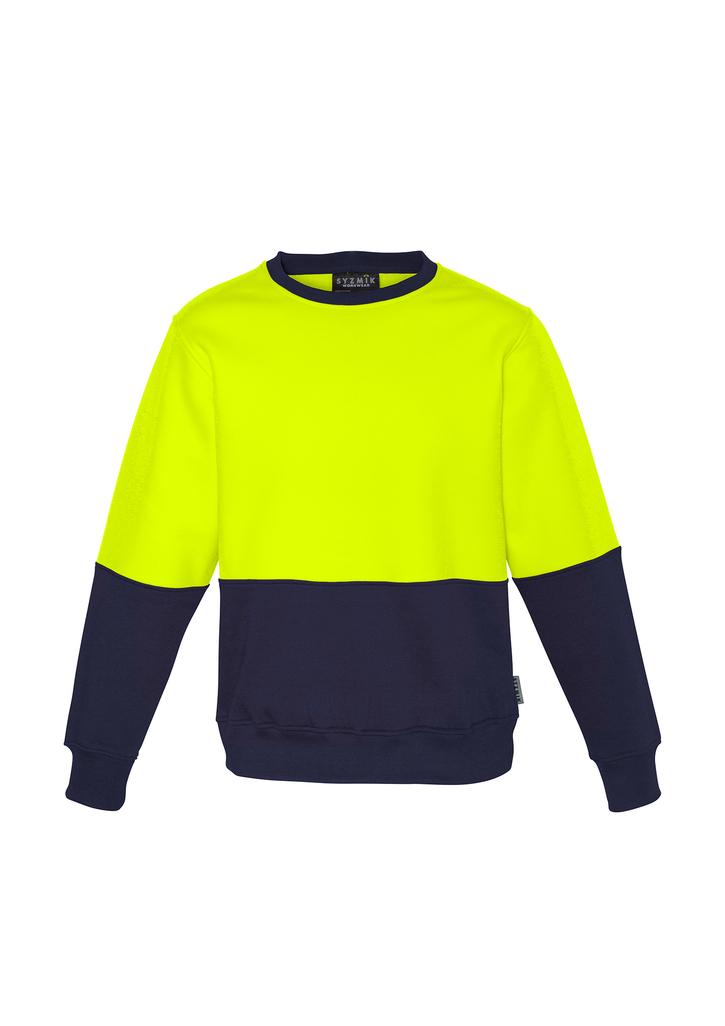 Unisex Hi Vis Crew Sweatshirt