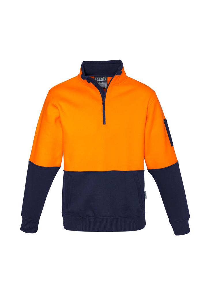 Unisex Hi Vis Half Zip Pullover - ZT466
