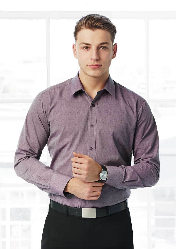 Mens Trend Long Sleeve Shirt
