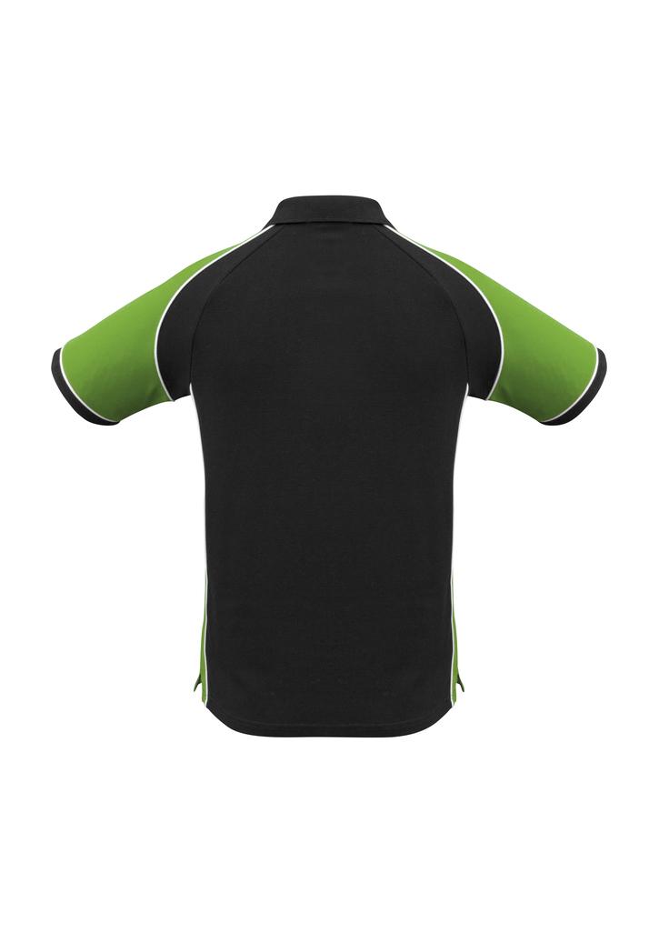 Black/Green/White
