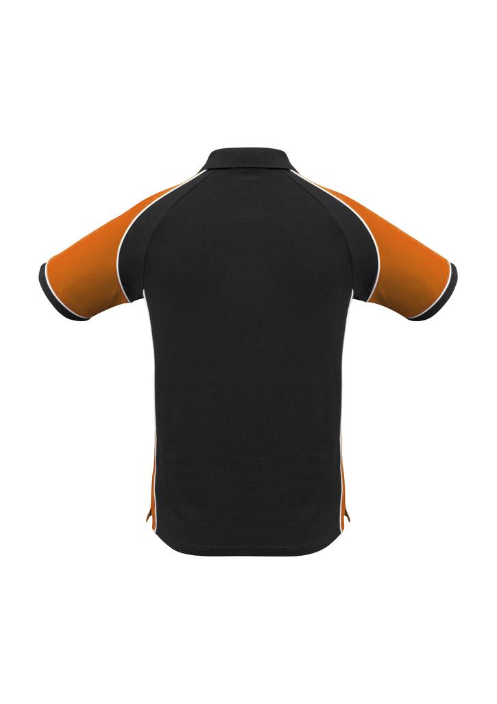 Black/Orange/White