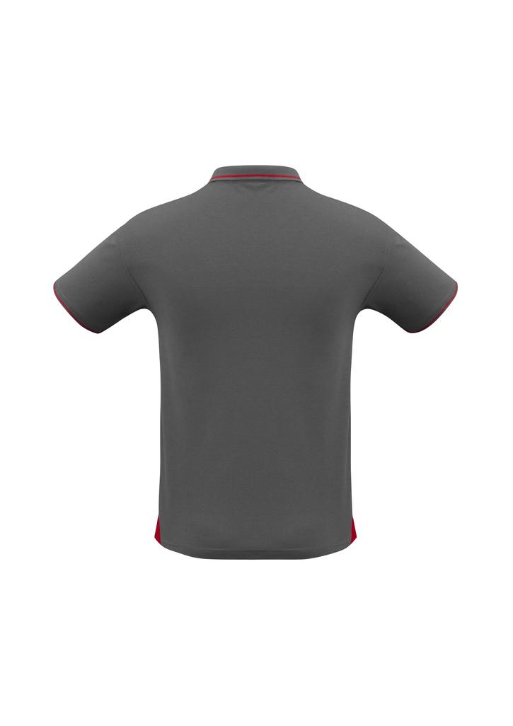 Steel Grey/Red