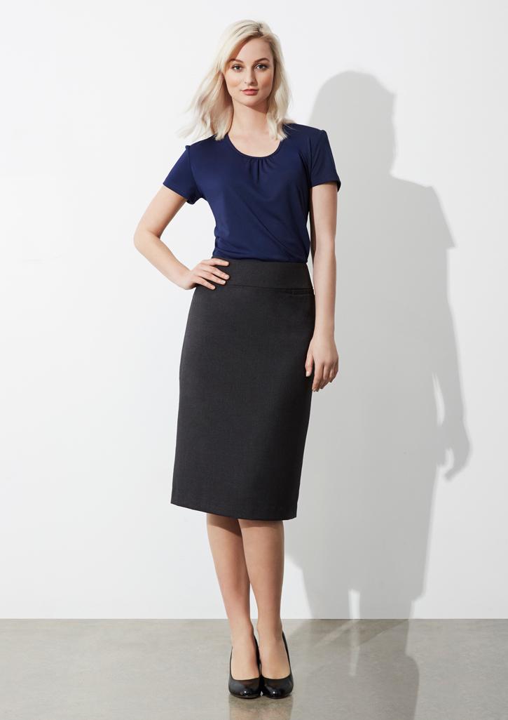 Ladies Classic Below Knee Skirt - BS29323