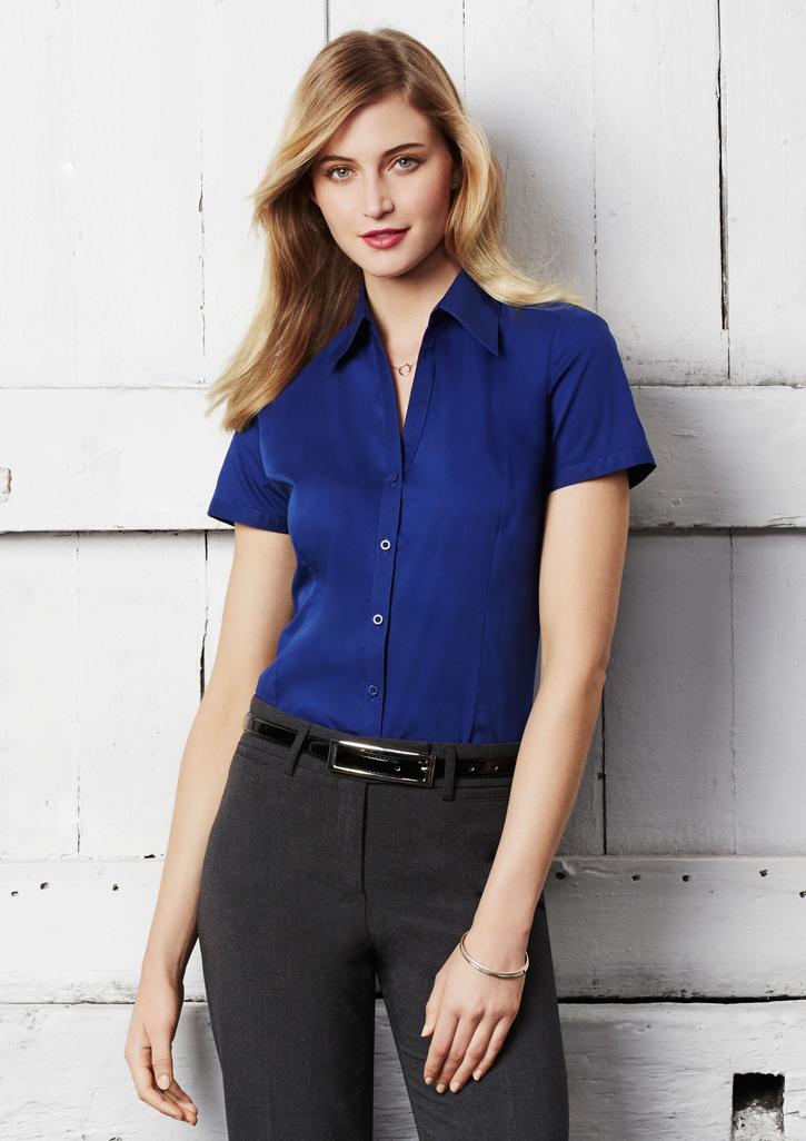 Ladies Metro Short Sleeve Shirt - LB7301