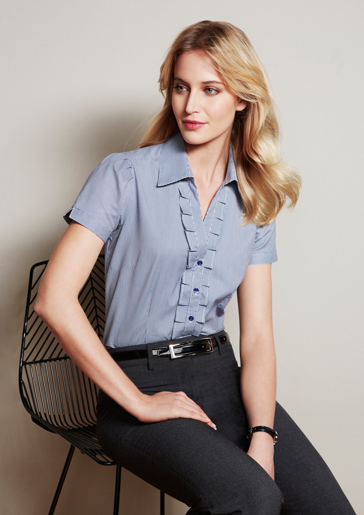 Ladies Edge Short Sleeve Shirt - S267LS