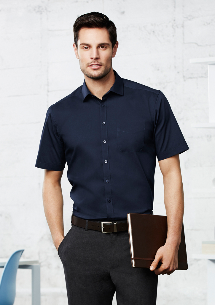 Mens Monaco Short Sleeve Shirt