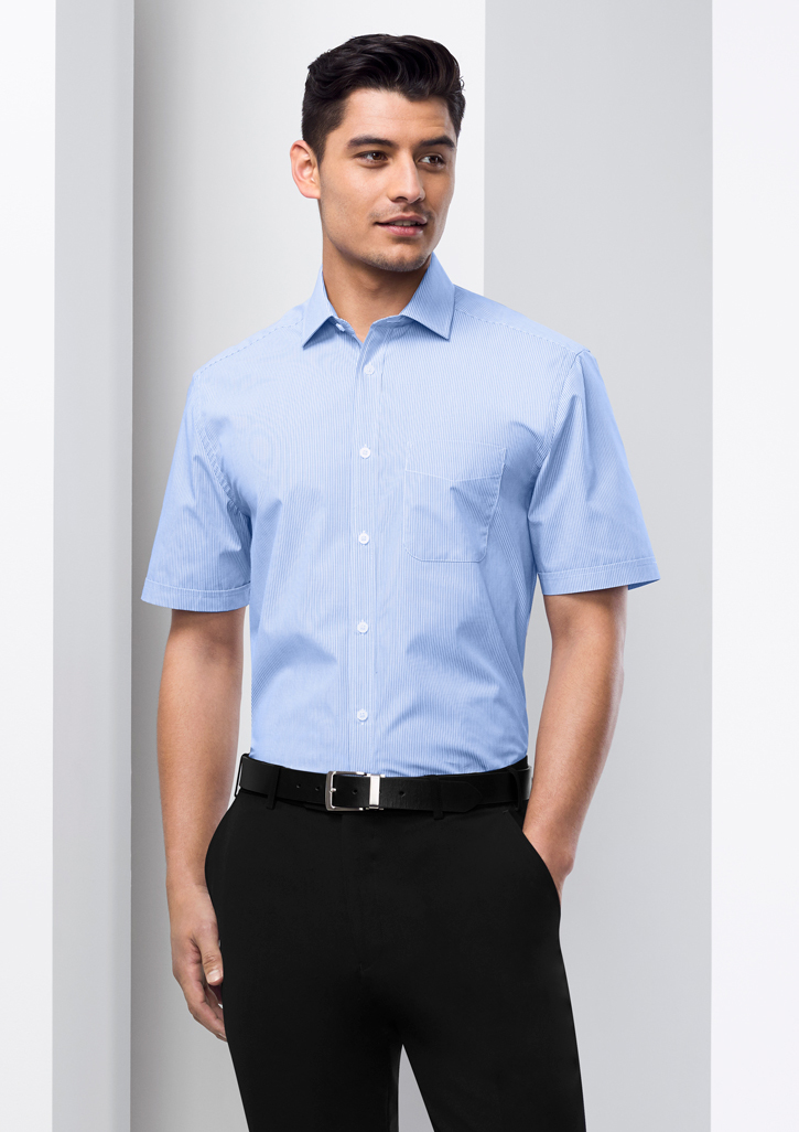 Mens Euro Short Sleeve Shirt - S812MS