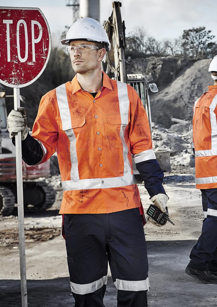 Mens TTMC-W Drill Work Shirt