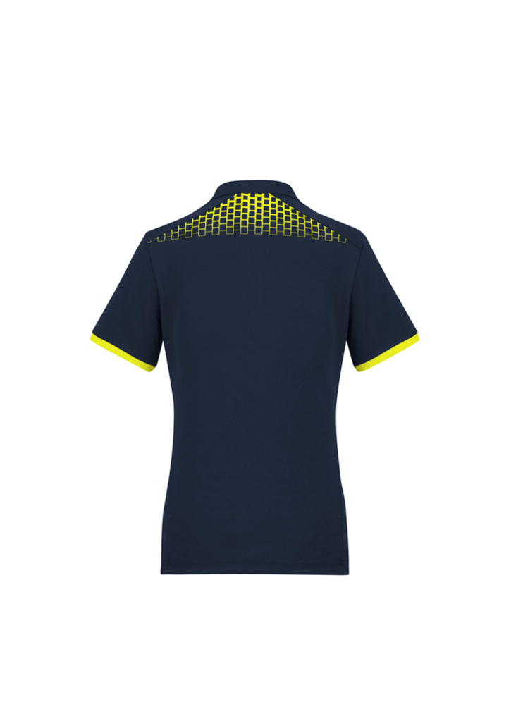Navy/Fluoro Yellow