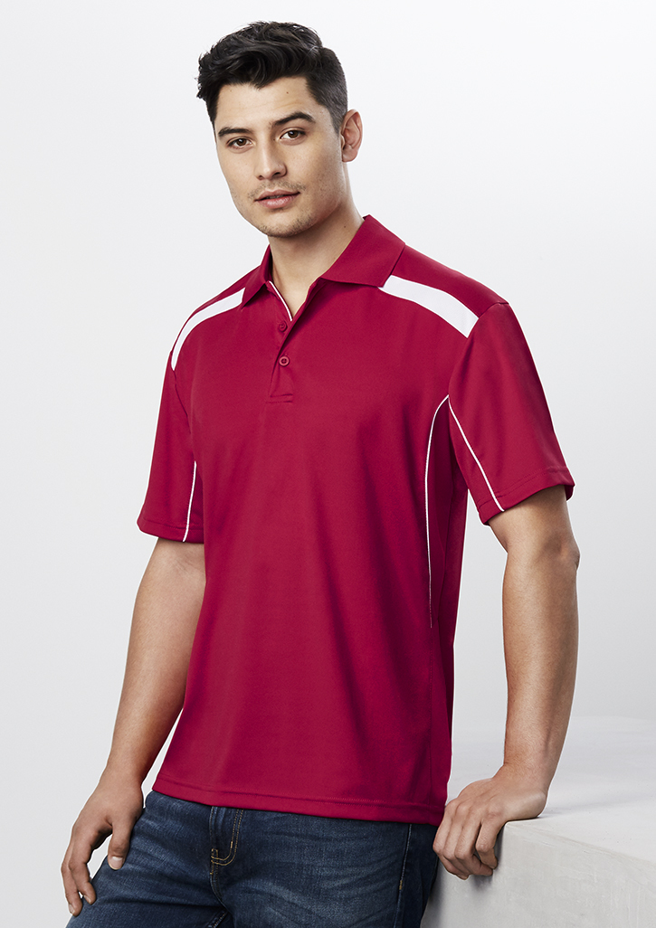 Mens United Short Sleeve Polo - P244MS